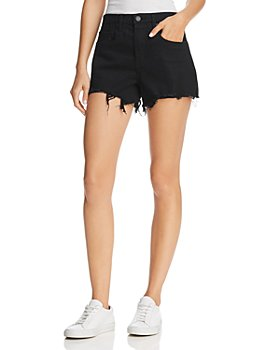 BLANKNYC - Raw-Edge Denim Shorts in Night Mania