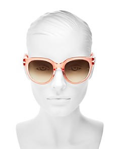 rag & bone - Women's Oversized Polarized Square Sunglasses, 54mm