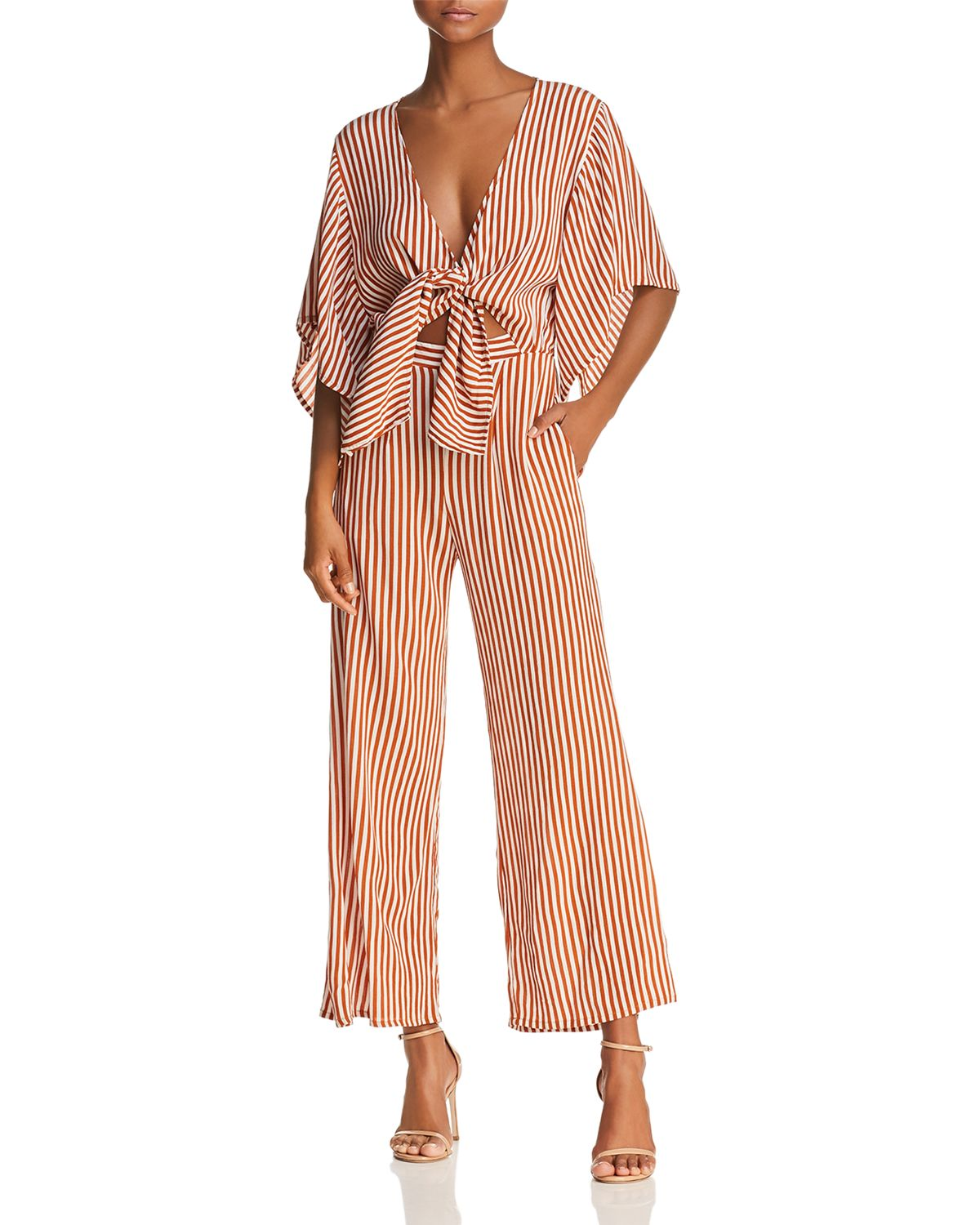 Tilos Striped Jumpsuit by Faithfull The Brand