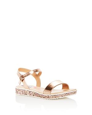 Steve Madden Girls' Glitter Platform Sandals - Big Kid