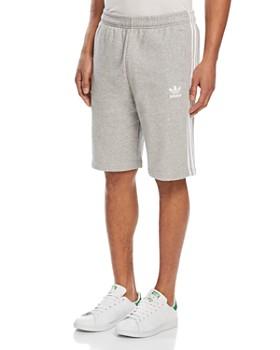 adidas Originals - Three-Stripe Sweat Shorts
