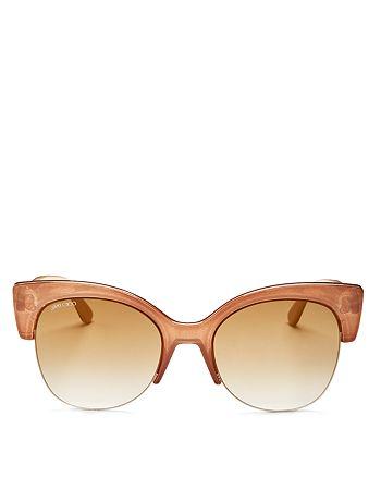 Jimmy Choo - Women's Priya Cat Eye Sunglasses, 59mm