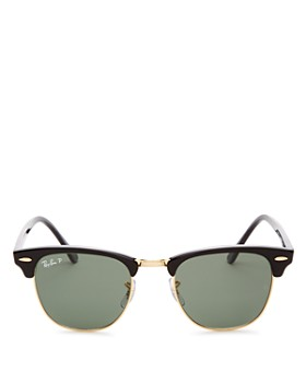 6c70d6b97a7 Ray-Ban - Unisex Polarized Classic Clubmaster Sunglasses