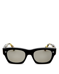 Oliver Peoples - Men's Isba Square Sunglasses, 48mm