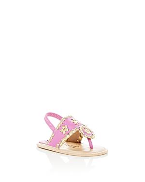 Jack Rogers Girls Hollis Leather Slingback Sandals  Baby
