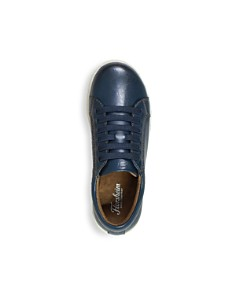 Florsheim Kids - Boys' Curb Jr. Navy Elastic Lace Shoe - Toddler, Little Kid, Big Kid