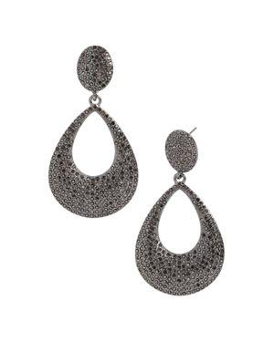 Baublebar Davia Pave-Encrusted Loop Drop Earrings
