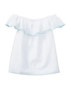 Polo Ralph Lauren Girls Cotton Gauze OfftheShoulder Top  Big Kid