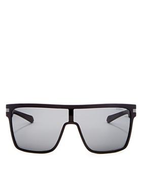 Polaroid - Men's Polarized Shield Sunglasses, 99mm