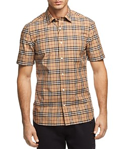 Burberry Alexander New Core Check Regular Fit Button-Down Shirt - Bloomingdale's_0