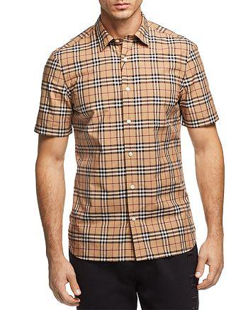 Burberry Alexander New Core Check Regular Fit Button-Down Shirt ... 8a862cd208c