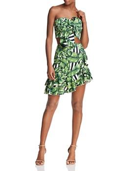 Red Carter - Sabrinah Asymmetric Printed Skirt