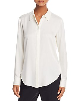 Theory - Sunaya Silk-Stretch Shirt