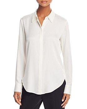 Theory - Sunaya Silk-Stretch Shirt