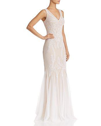 Avery G - Soutache Godet Gown