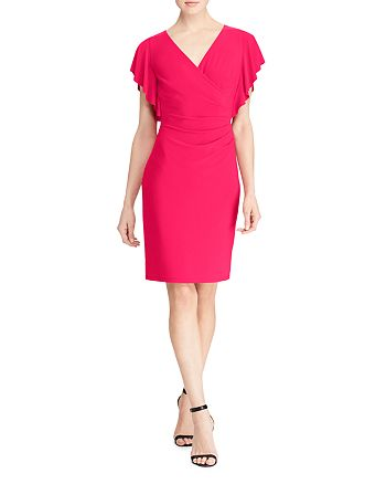 Ralph Lauren - Faux Wrap Dress