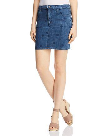 J Brand - Lyla Denim Mini Skirt in Aerial