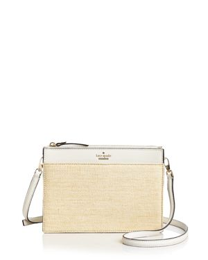 kate spade new york Cameron Street Straw Clarise Crossbody 2898243