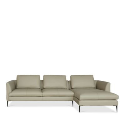 Alessandra 2-Piece Left Arm Facing Sectional - 100% Exclusive