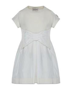 Moncler Girls' Bow Dress - Big Kid - Bloomingdale's_0