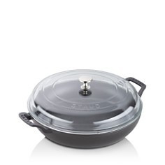 Staub 3.5-Quart Braiser with Glass Lid - Bloomingdale's Registry_0