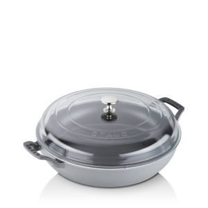 Staub 3.5-Quart Braiser with Glass Lid