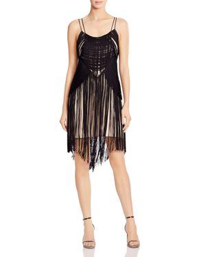 Haute Hippie Lawless Fringed Dress 2898481