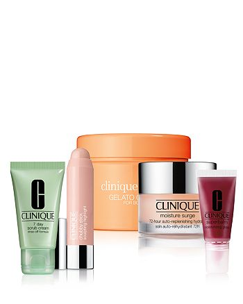 Clinique - Choose 1 deluxe sample for every $25 you spend in !