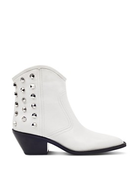 Marc Fisher LTD. - Bailey Studded Leather Western Booties