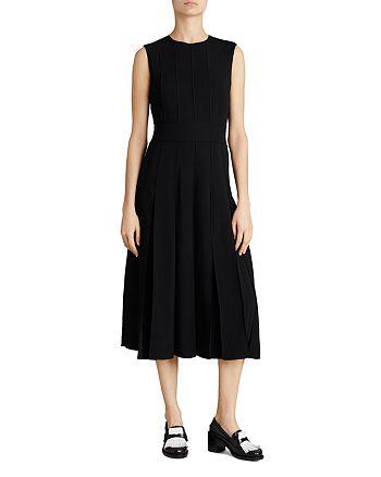 Burberry - Aria Pleated Midi Dress