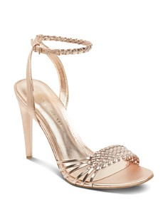 IVANKA TRUMP - Women's Holie Woven Leather Sandals