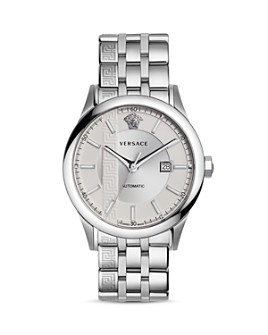 Versace - Aiakos Stainless Steel Automatic Watch, 44mm