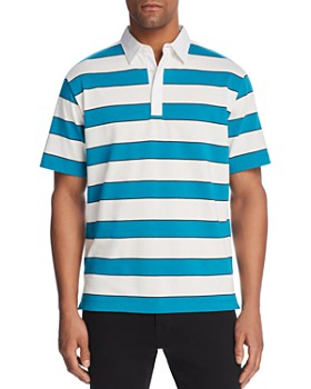 Theory - Rugby Stripe Polo Shirt