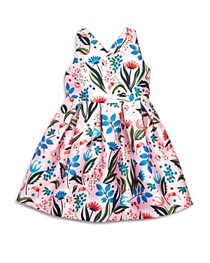 Pippa  Julie Girls Floral CrisscrossBack Dress  Little Kid