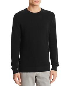 Theory Riland Piqué Breach Crewneck Sweater - Bloomingdale's_0