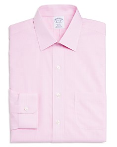 Brooks Brothers - Micro Gingham Classic Fit Dress Shirt