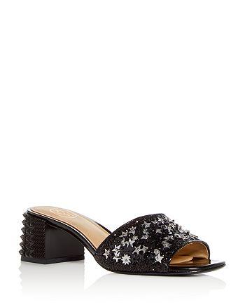 003901b5ff1 Ash Women s Ruby Star Embellished Block Heel Slide Sandals ...