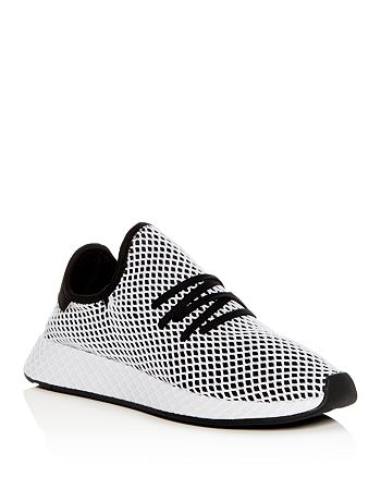 brand new 5c8d3 b6288 Adidas - Mens Deerupt Runner Net Lace Up Sneakers
