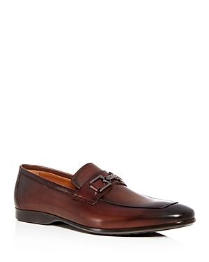 Bruno Magli Men's Morolo Leather Apron Toe Loafers