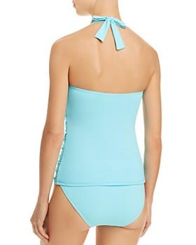 Bleu Rod Beattie - Smock It to Ya Halter Tankini Top & Hipster Bikini Bottom