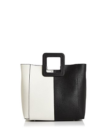 TMRW Studio - Antonio Block Leather Satchel