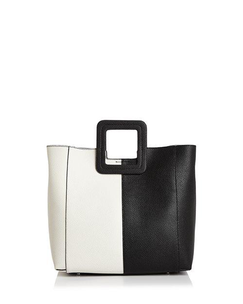 TMRW Studio - Antonio Block Leather Satchel