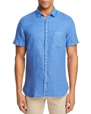 Boss Orange Cattitude Linen Button-Down Shirt