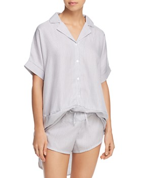 Calvin Klein - Striped Sleep Tunic & Shorts