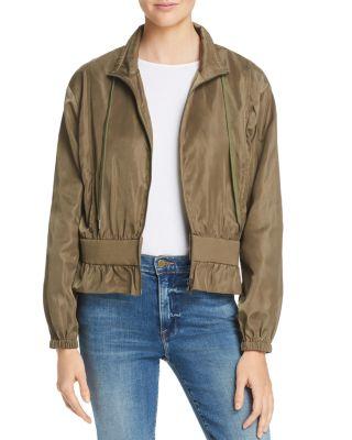 $FRAME Cinched Cropped Jacket - Bloomingdale's