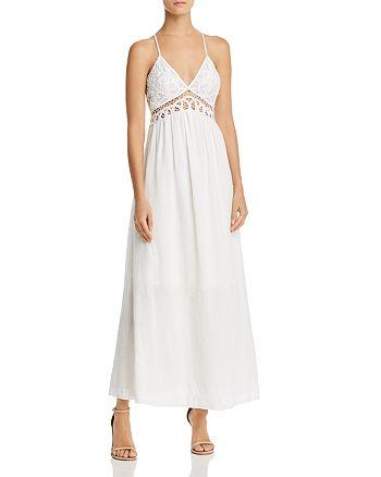 Aqua Lace Bodice Maxi Dress 100 Exclusive Bloomingdale S