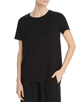 Eileen Fisher - Crewneck Tee, Regular & Petite
