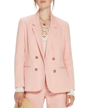SLIM-FIT DOUBLE BREASTED JACKET