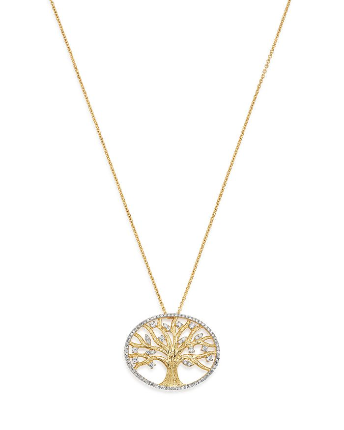 Bloomingdale's - Diamond Pendant Set In 14K Yellow Gold, 0.40 ct. - 100% Exclusive
