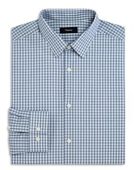 Theory - Check Slim Fit Dress Shirt